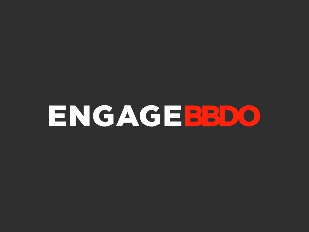 Brand Engagement Index                  2012                DECEMBER 2012