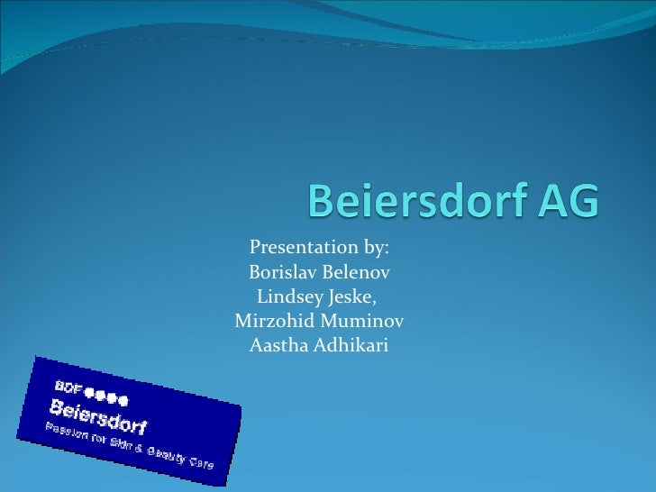 Beiersdorf ag f07