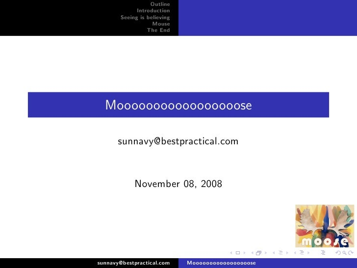 use Moose talk in beijing workshop 2008