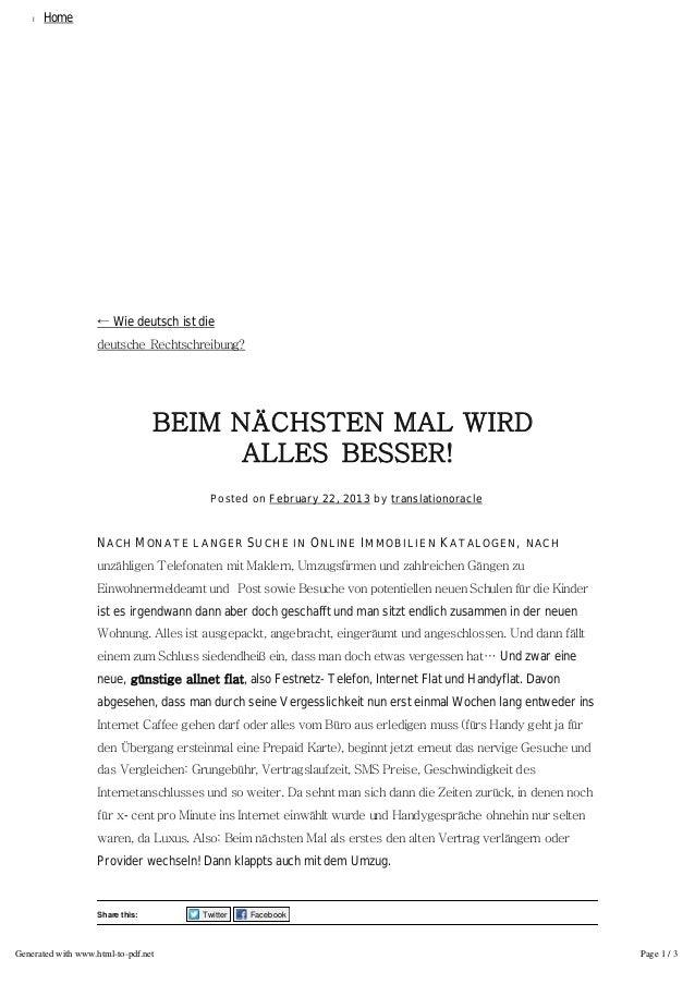 l   Home                                            ALLNETFLATS                    ← Wie deutsch ist die                  ...