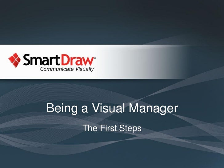 Being a Visual Manager      The First Steps