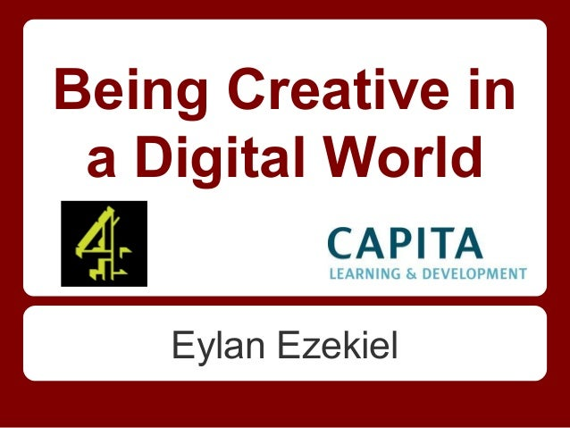 Being creative in a digital world
