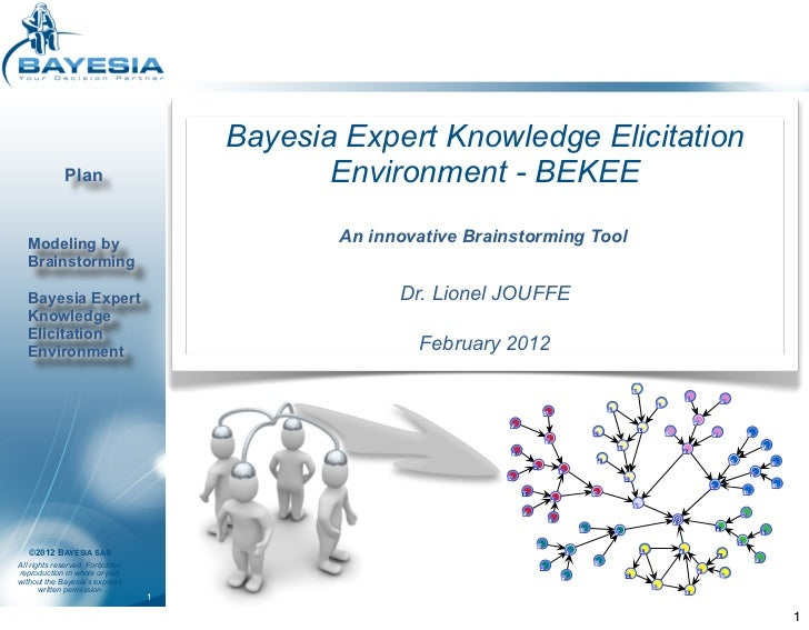 Bayesia Expert Knowledge Elicitation             Plan                           Environment - BEKEE  Modeling by          ...