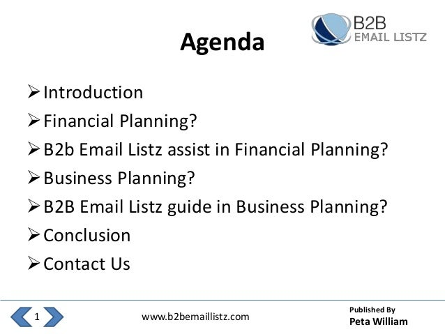 What is financial planning in business