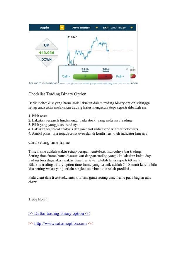 Ebook trading option bahasa indonesia