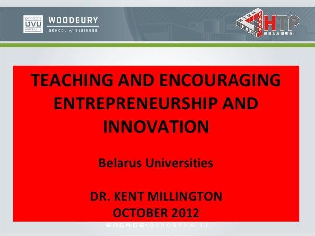 training of Professor Kent Millington (2)