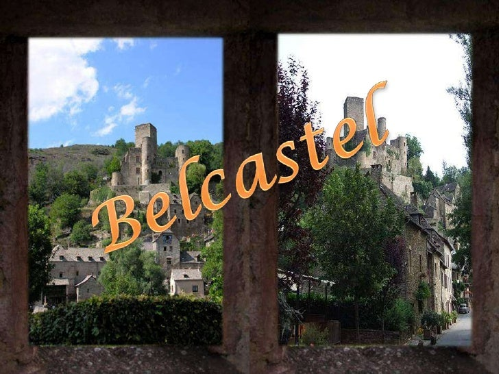 Belcastel (Bèl Castèl in Occitan) is a commune in the Aveyron department in southern France.<br />The village is medieval ...