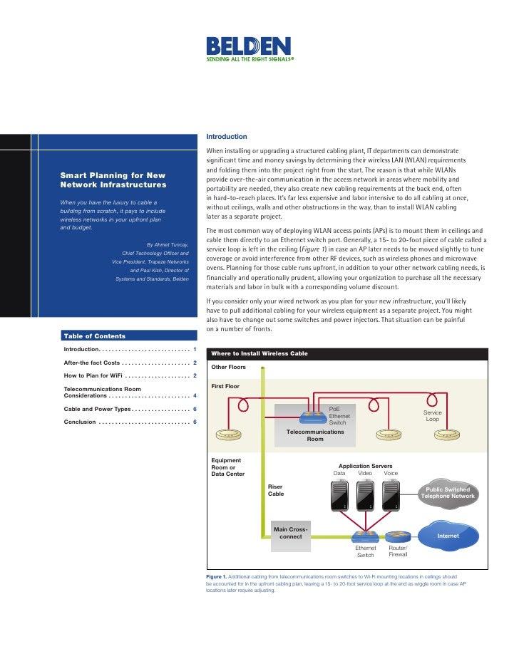 Belden - Trapeze Wired/Wireless White Paper
