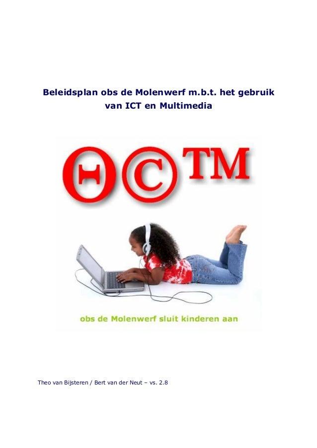 Beleidsplan icmt beleid obs de molenwerf 2008-2012 versie 2