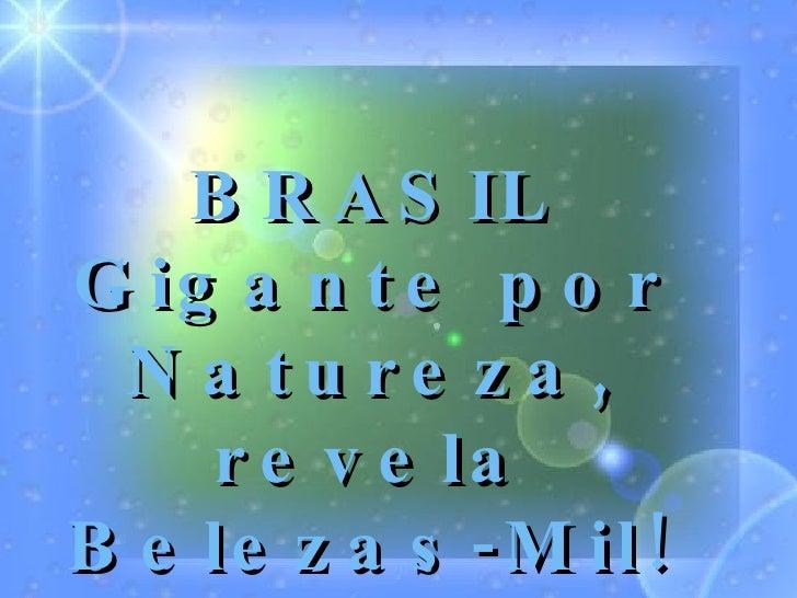 Belezas do Brasil