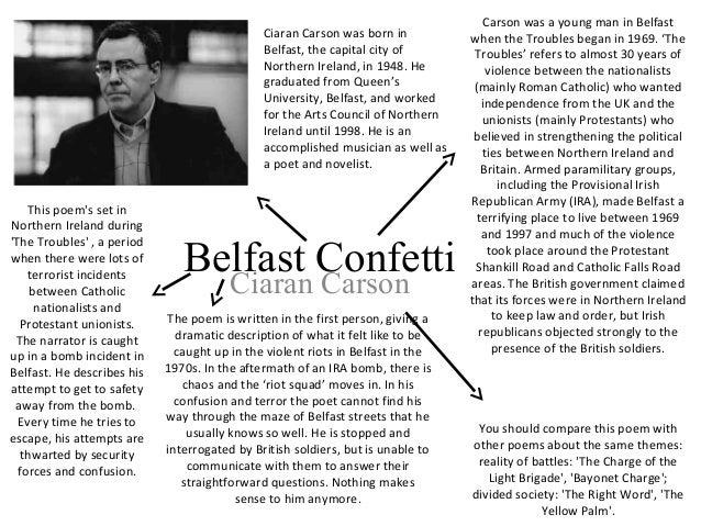 belfast confetti ciaran carson essay