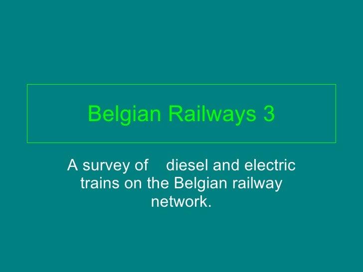 Belgian railways 3
