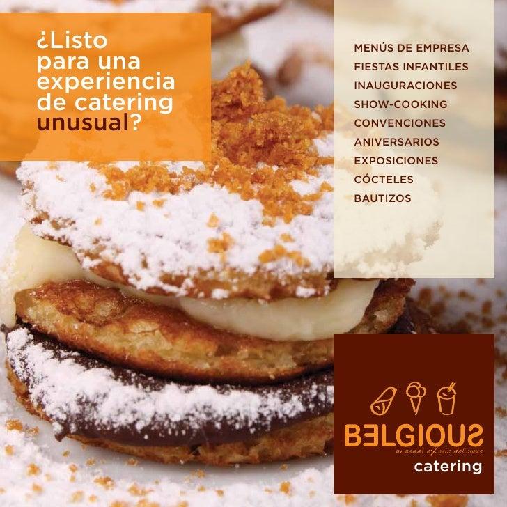 Belgious Catering Dossier (ES)