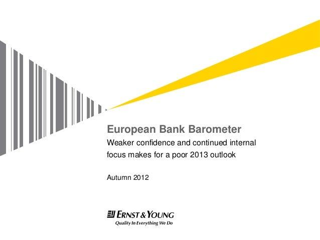European Bank Barometer