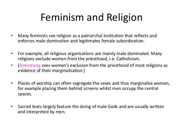 Feminism and religion essay free