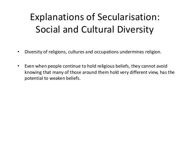 secularisation essay 18