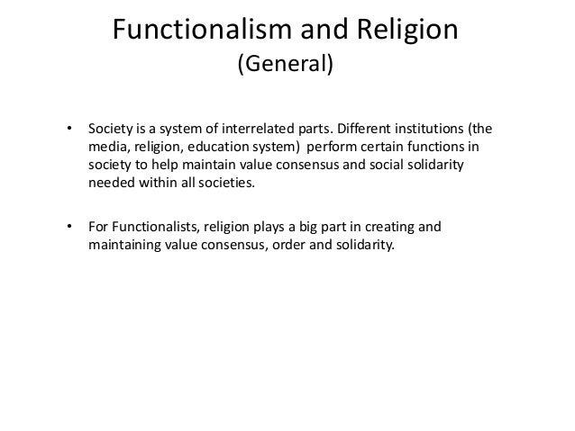 religion in society essay