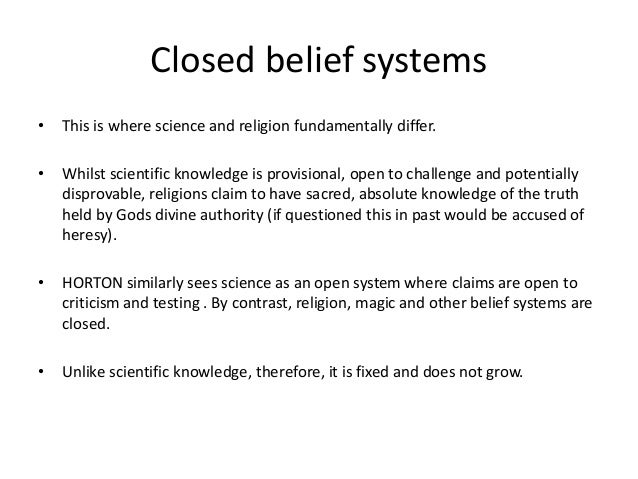 belief essay religious system