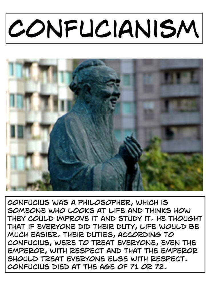 Belief System - Confucianism
