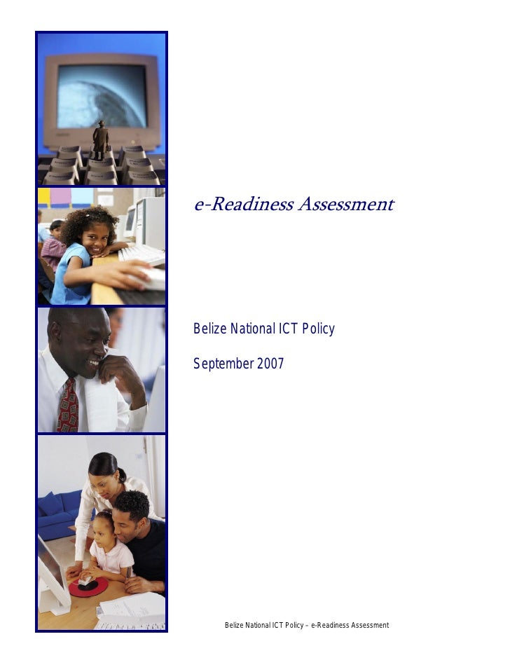 Belize e-readiness assessment report