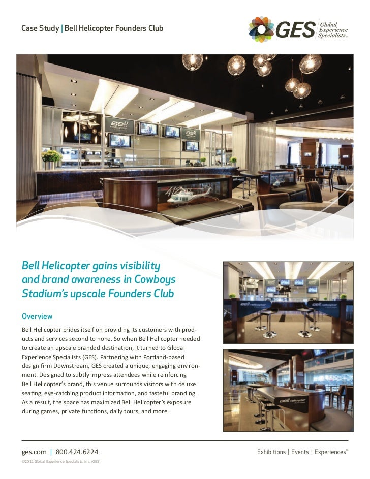 Bell Club Case Study - GES