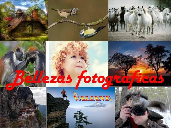 Bellas fotografias