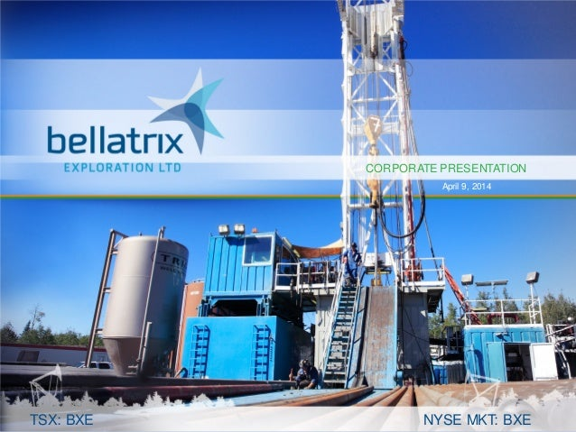 Bellatrix Exploration - Investor Presentation 2014