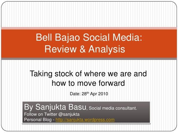 Bell bajao social media analysis