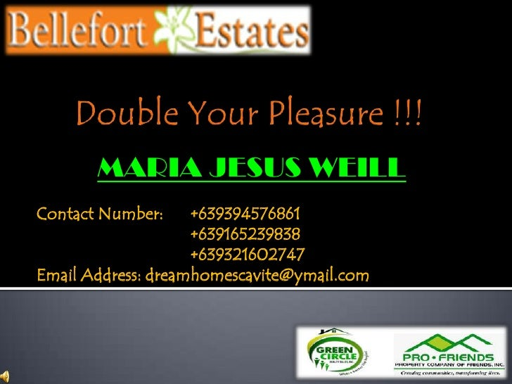 Double Your Pleasure !!!<br />MARIA JESUS WEILL<br />Contact Number:+639394576861 <br />+639165239838<br />+6393216...
