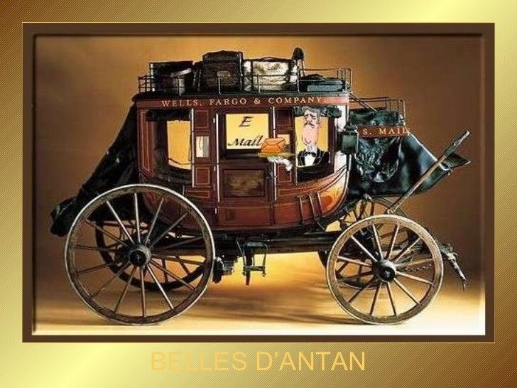 BELLES D'ANTAN