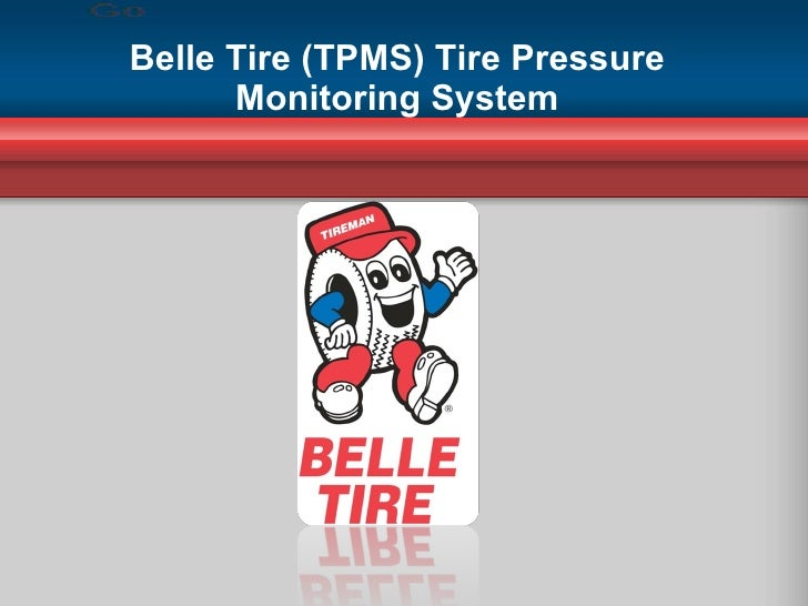 Belle Tire (TPMS) Tire Pressure Monitoring System