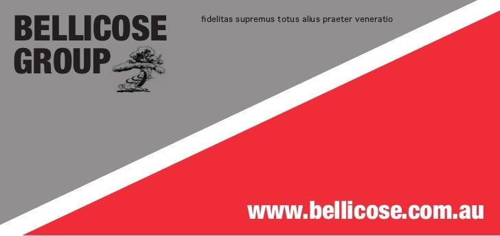 Bellicose            fidelitas supremus totus alius praeter veneratioGroup                       www.bellicose.com.au