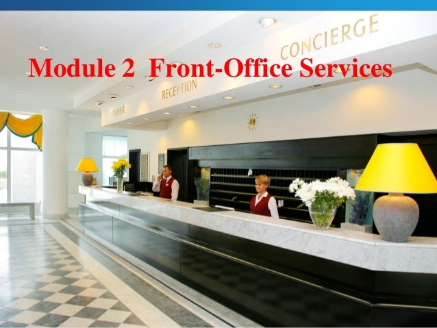 Module 2 Front-Office Services