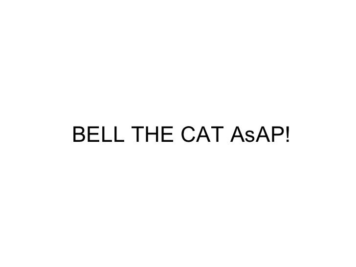 Bell the cat as ap!
