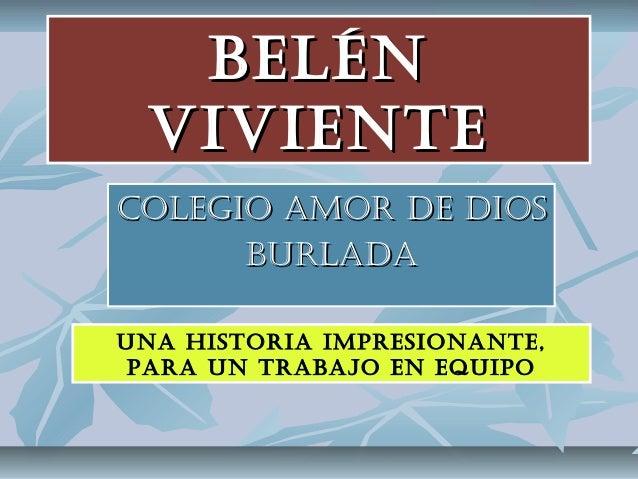 Belen viviente colegio amor de dios burlada 2013 - Colegio amor de dios oviedo ...
