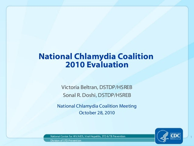 National Chlamydia Coalition 2010 Evaluation