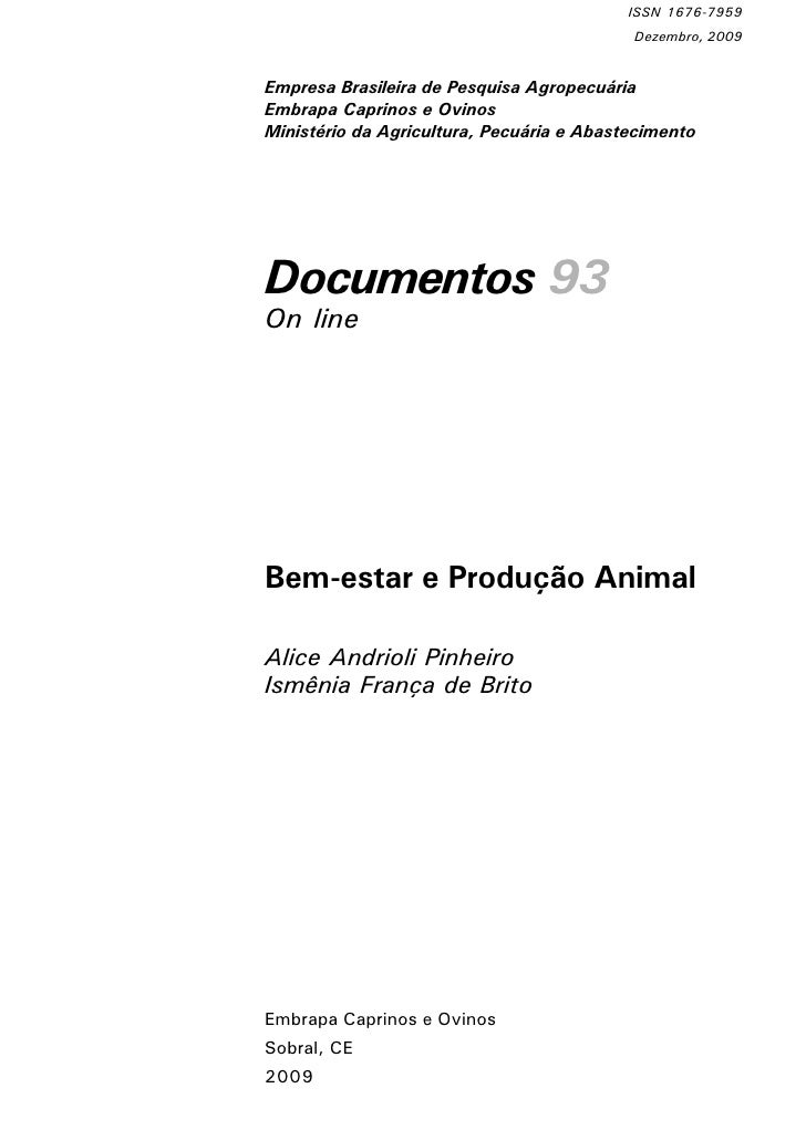 ISSN 1676-7959                                            Dezembro, 2009   Empresa Brasileira de Pesquisa Agropecuária Emb...
