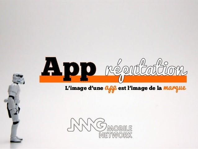 L'image d'une   app est l'image de la marque