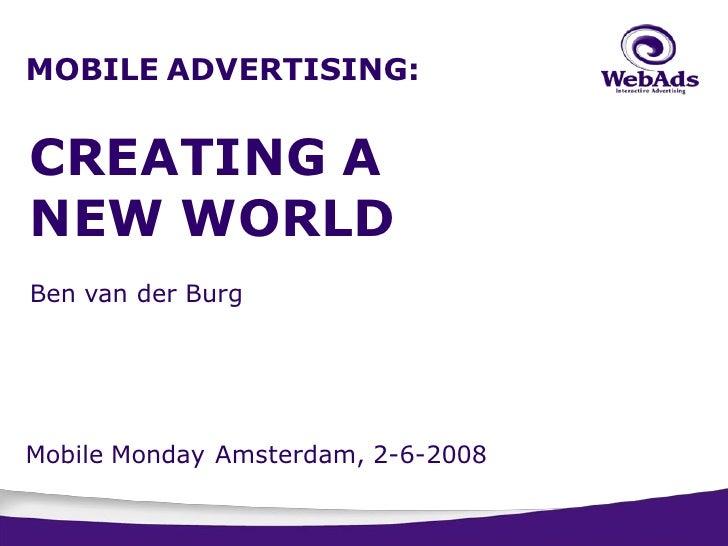 Ben van der Burg - WebAds