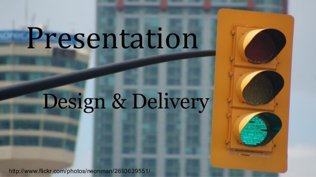 PowerPoint Delivery and Design Tips