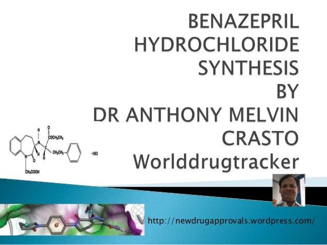 Benazepril Synthesis  by Dr Anthony Crasto