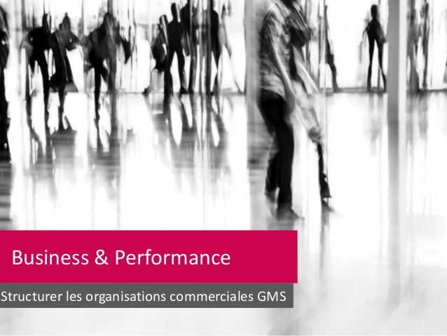 Business & Performance Structurer les organisations commerciales GMS