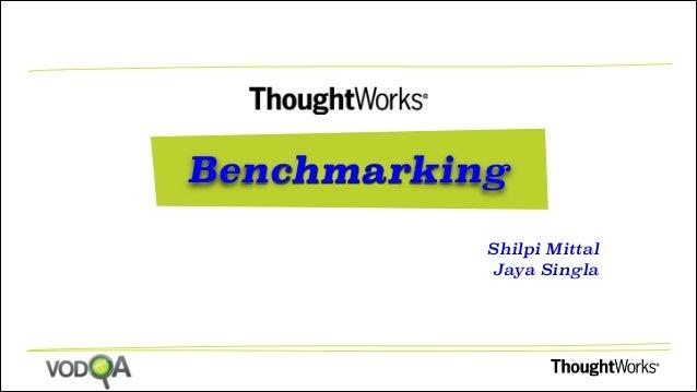 Performce Test : Benchmarking