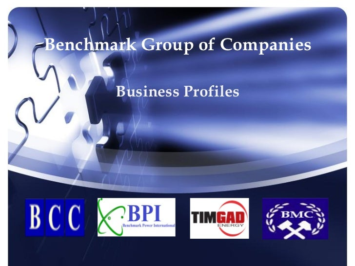Benchmark Group Of Companies Business Profiles