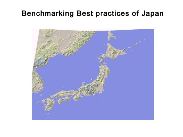 FICCI                                          CE        Benchmarking Best practices of Japan