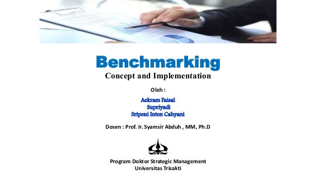 the concept of benchmarking Definition: a benchmark is an unmanaged group of securities which are  considered as a 'benchmark' to measure a fund's/stock's performance  benchmarks are.