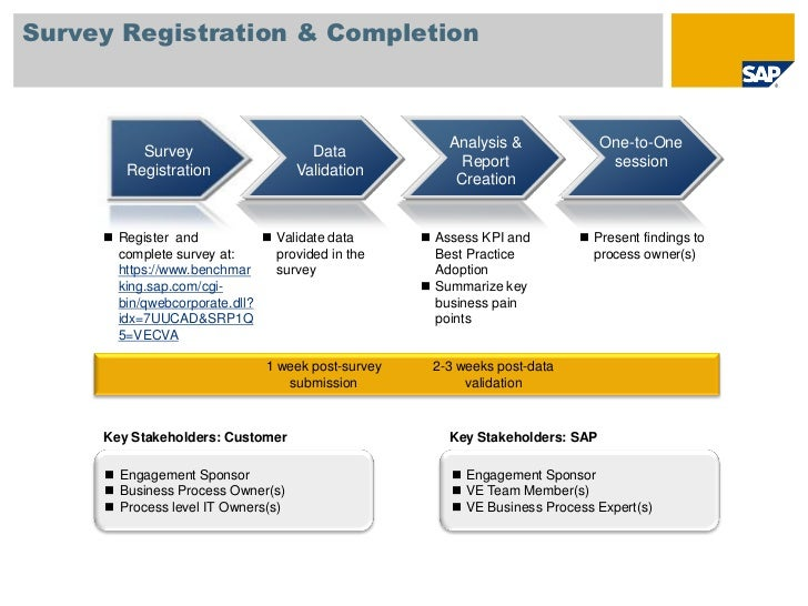 Survey Registration & Completion                                                        Analysis &              One-to-One...