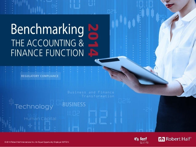 Benchmarking the Accounting & Finance Function: 2014 Summary Presentation