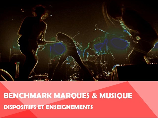 Benchmark Marques et musique 2013