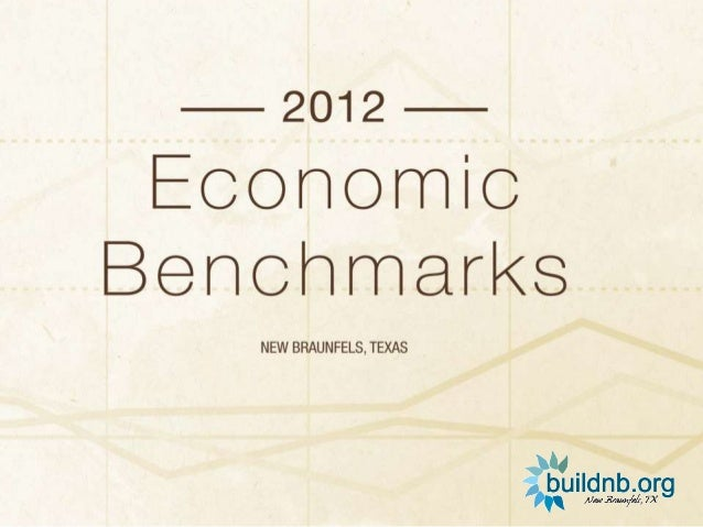 2012 New Braunfels Benchmark Study